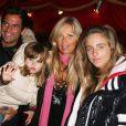 Filip Nikolic, Valérie Bourdin et leur fille Sasha