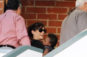 Sandra Bullock : Avec son fils Louis, pour vivre heureux, ils vivent cachés !