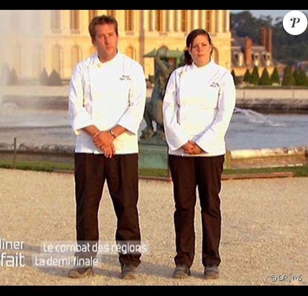 Coralie et Reynald en finale !