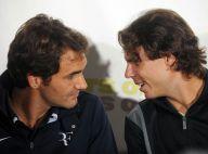 Regardez Roger Federer et Rafael Nadal se taper un fou rire lors de l'annonce d'un match-exhibition !