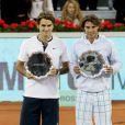 """Roger Federer et Rafal Nadal s'ffronteront lors d'un match exhibition, le 21 décembre 2010, à Zurich : """"The Match for Africa""""."""