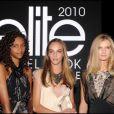 Alice, Alma et Coralie, gagnantes de la finale du concours français Elite Model Look