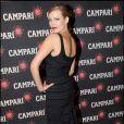 La ravissante Elodie Frégé à l'occasion de la soirée Campari, qui s'est tenue au Petit Palais, à Paris, le 28 septembre 2010.