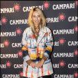 Alexandra Golovanoff à l'occasion de la soirée Campari, qui s'est tenue au Petit Palais, à Paris, le 28 septembre 2010.