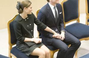 Victoria et Daniel de Suède, toujours aussi tendres, ovationnés au Parlement !