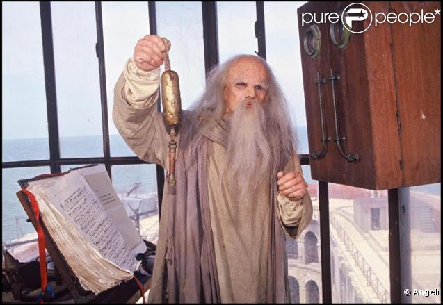 Yann Le Gac alias Père Fouras dans Fort Boyard