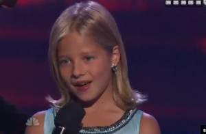 Jackie Evancho : La petite prodige de 10 ans suit les pas de Susan Boyle !