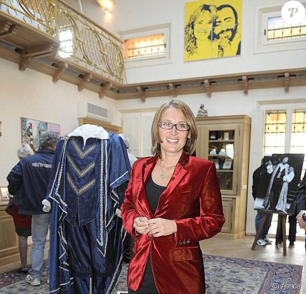 Nicoletta Mantovani, veuve de Luciano Pavarotti, ouvre les portes de leur maison de Modène au public. 12/01/2010