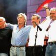 Pink Floyd : retrouvailles du groupe pour Live8, le 2/07/05