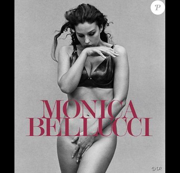 Monica Bellucci sur la couverture de l'ouvrage éponyme en librairies le 30 novembre 2010