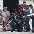 Robert de Niro sur le tournage de Manuale d'Amore 3 à Rome