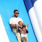 Usher : Ses fils, des petits monstres qui lui font faire n'importe quoi !
