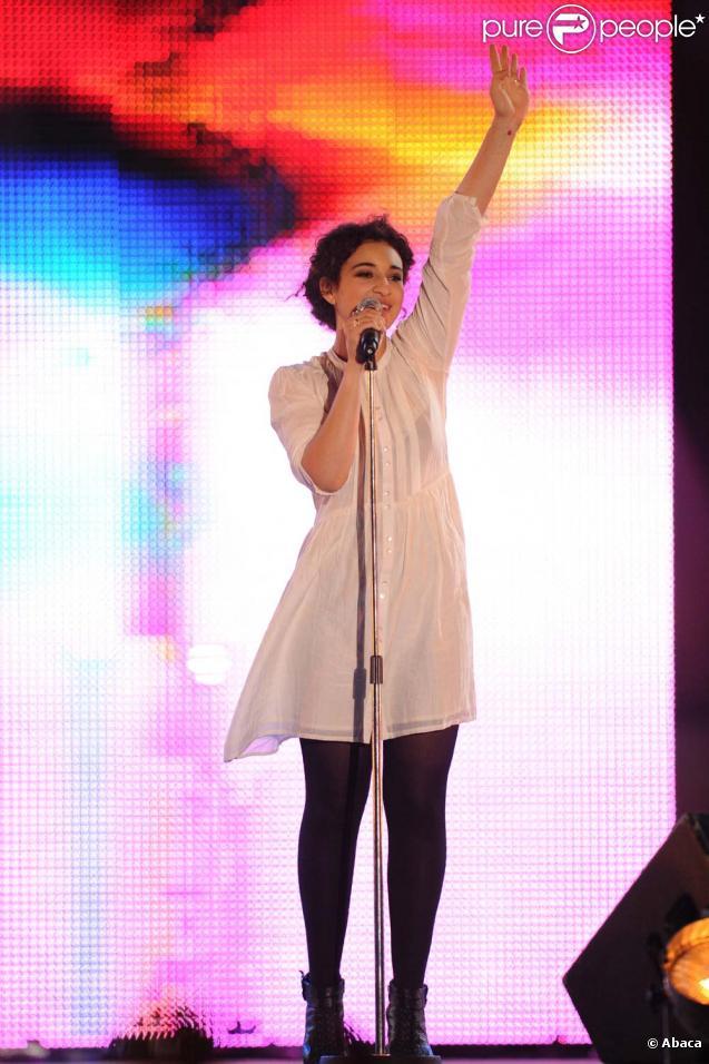 Concert pour la tolérance à Agadir, le 16 octobre 2010 : Camélia Jordana