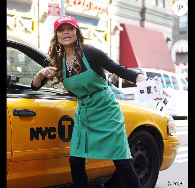 Latoya Jackson à New York, le 19 octobre 2010