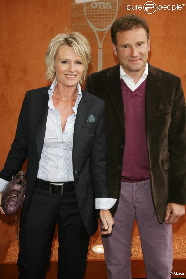 Sophie Davant avec son mari Pierre Sled