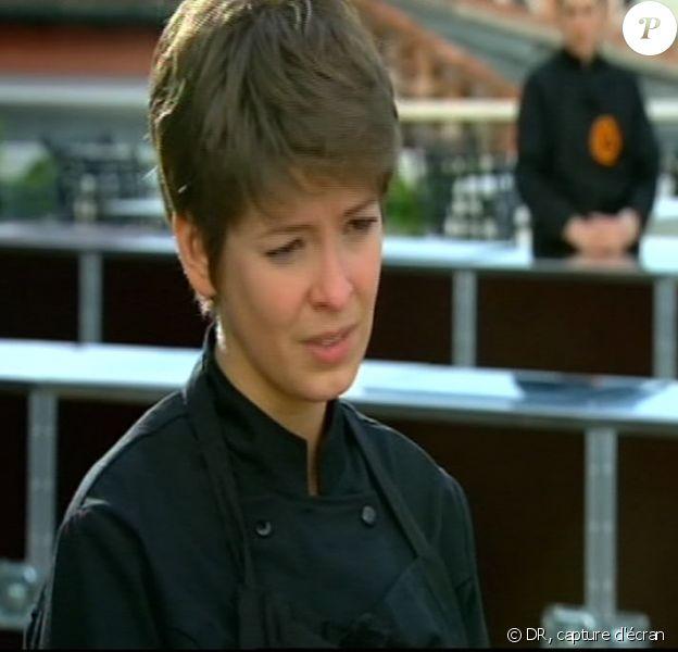 Audrey annonce qu'elle abandonne le jeu (prime du 21 octobre 2010)