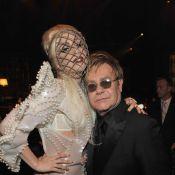 Lady Gaga et Elton John chantent l'amour de deux nains de jardins... Eh oui !
