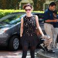 Fashionista dans l'âme, la comédienne Rachel Bilson adore les mini-shorts ainsi que les talons hauts. La solution pour l'hiver ? Des collants noirs bien sûr !