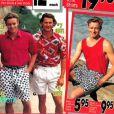 """Simon Baker pendant ses années """"mannequin"""" (années 80)"""