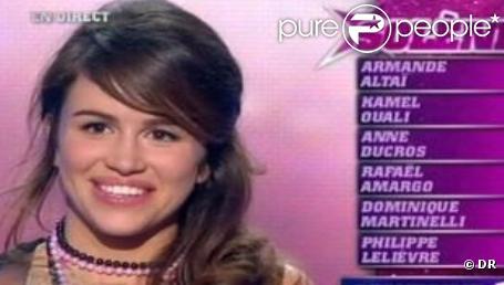 Solène Le Pierres a participé à la Star Academy 8.