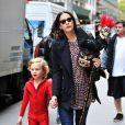 Liv Tyler et son fils Milo se préparent à fêter Halloween. Le 28/10/10 à New York