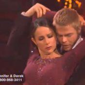 Quand Jennifer Grey torride et sensuelle danse le cha cha avec Brandy !