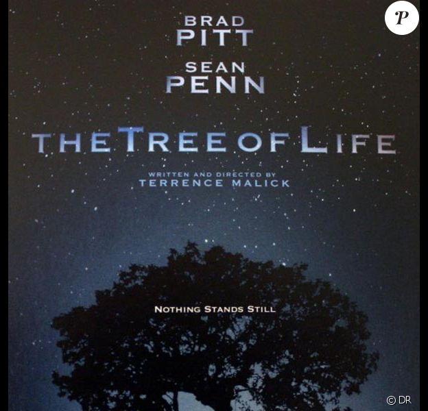 L'affiche officielle de Tree of Life, de Terrence Malick.