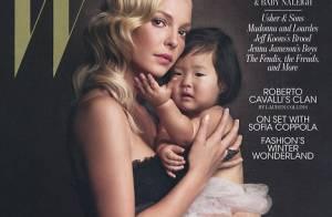 Katherine Heigl : Comblée par sa petite Naleigh, elle vous présente sa famille !