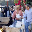 Nicolette Sheridan, Michael Bolton et leur chien
