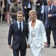 Mariage de Laurence Ferrari et Renaud Capuçon, Paris, 3 juillet 2010