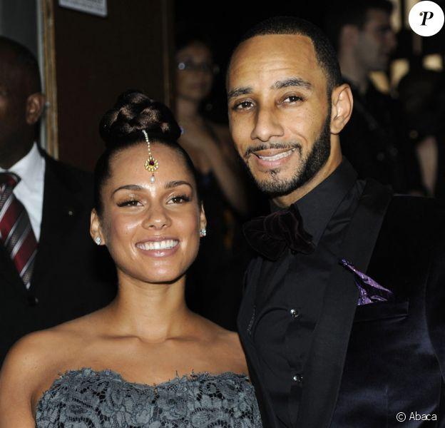 Alicia Keys et son mari Swizz Beatz en septembre 2010