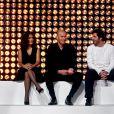 Nolwenn Leroy, Salma Hayek, Zinedine Zidane et Patrick Fiori dans le show tv  Les Stars se dépassent pour ELA , le 13 novembre 2010 à Paris