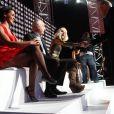 Shy'm, Zinedine Zidane dans le show tv  Les Stars se dépassent pour ELA , le 13 novembre 2010 à Paris