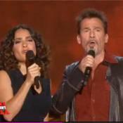 Salma Hayek : Découvrez son duo avec Florent Pagny et son numéro de flamenco !