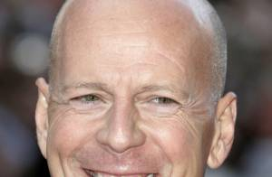 Bruce Willis se pose à New York