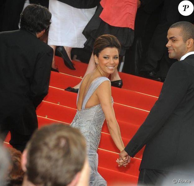 Eva Longoria et Tony Parker au Festival de Cannes en 2009