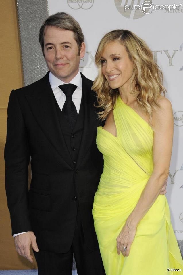 Sarah Jessica Parker et Matthew Broderick en mai 2010