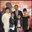Jackie Chan, Will Smith, Jada Pinkett-Smith, Jaden Smith et Willow Smith