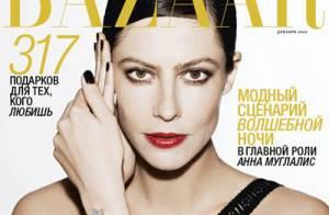 Anna Mouglalis séduit les Russes et fait la couverture d'un grand magazine !
