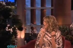 Heidi Klum : Surprise par un arbre vivant, elle nous en met plein la vue !