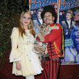 Marianne Manson et Joseph Bouglione au cirque Bouglione, le 27 novembre 2010.