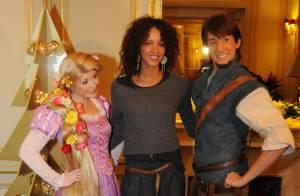 Noémie Lenoir et Inés Sastre : Moment enchanté avec leurs enfants et Mickey !