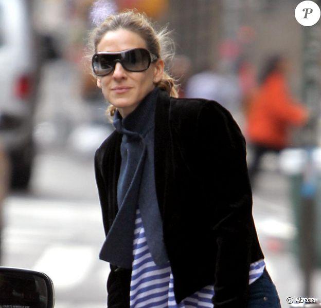 Sarah Jessica Parker à Soho, New York, le 18 novembre 2010.