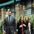 Letizia et Felipe d'Espagne à Madrid, le 9 décembre 2010.