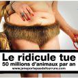 La nouvelle campagne de la fondation Brigitte-Bardot pour le combat contre la fourrure