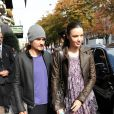Miranda Kerr et Orlando Bloom à Paris en septembre 2010