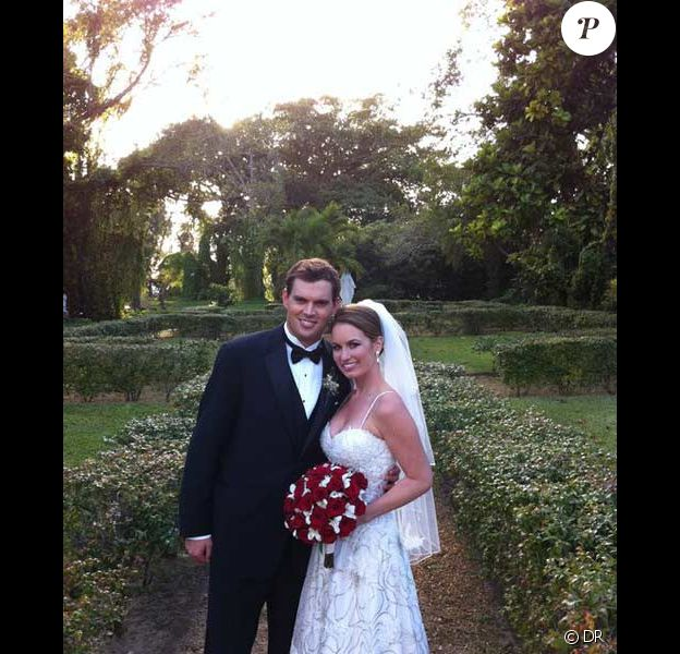 Mariage de Bob Bryan avec Michelle Alvarez le 14 décembre 2010 au nord de Niami Beach