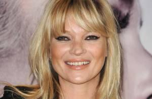 Kate Moss : Incroyable, le top sait sourire !