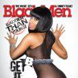 Nicki Minaj en couverture de Black Men