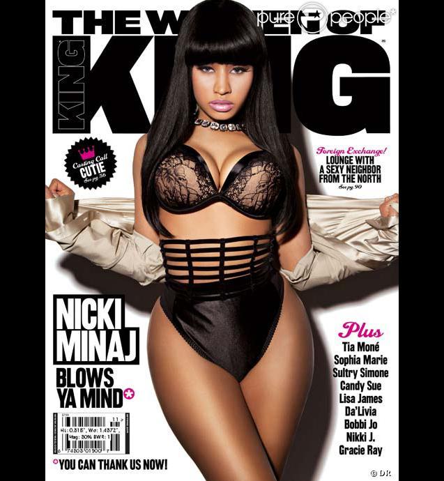 Nicki Minaj en couverture de King